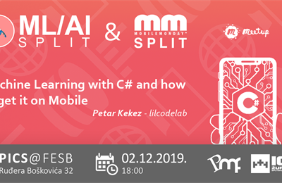 "Dva meetupa skupa: ML/AI Split s Mobile Monday i ""Machine learning with C#"" temon"