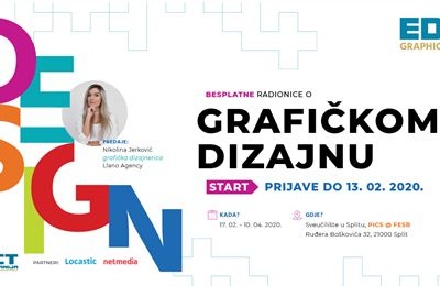 Počinju radionice osnova grafičkog dizajna - EDIT GraphicDesign START